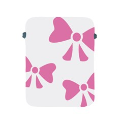 Bow Ties Pink Apple iPad 2/3/4 Protective Soft Cases