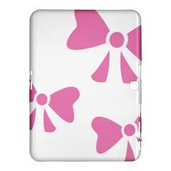 Bow Ties Pink Samsung Galaxy Tab 4 (10 1 ) Hardshell Case