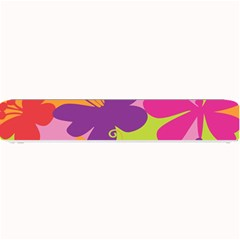 Butterfly Animals Rainbow Color Purple Pink Green Yellow Small Bar Mats
