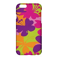Butterfly Animals Rainbow Color Purple Pink Green Yellow Apple iPhone 6 Plus/6S Plus Hardshell Case