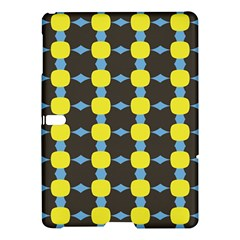 Blue Black Yellow Plaid Star Wave Chevron Samsung Galaxy Tab S (10.5 ) Hardshell Case
