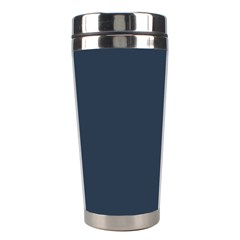 Argyle Triangle Plaid Blue Grey Stainless Steel Travel Tumblers