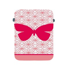 Butterfly Animals Pink Plaid Triangle Circle Flower Apple iPad 2/3/4 Protective Soft Cases