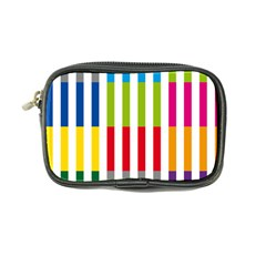 Color Bars Rainbow Green Blue Grey Red Pink Orange Yellow White Line Vertical Coin Purse