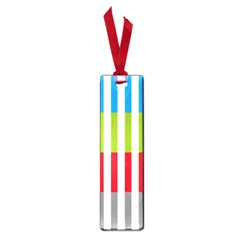 Color Bars Rainbow Green Blue Grey Red Pink Orange Yellow White Line Vertical Small Book Marks