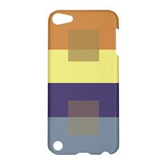 Color Therey Orange Yellow Purple Blue Apple iPod Touch 5 Hardshell Case