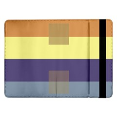 Color Therey Orange Yellow Purple Blue Samsung Galaxy Tab Pro 12.2  Flip Case