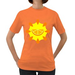 Citrus Cutie Request Orange Limes Yellow Women s Dark T Shirt