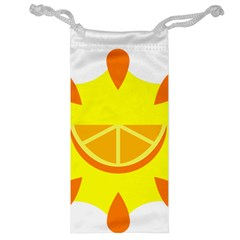 Citrus Cutie Request Orange Limes Yellow Jewelry Bag