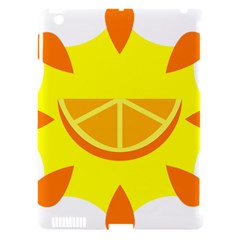 Citrus Cutie Request Orange Limes Yellow Apple iPad 3/4 Hardshell Case (Compatible with Smart Cover)