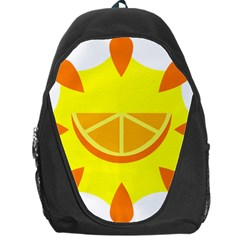 Citrus Cutie Request Orange Limes Yellow Backpack Bag