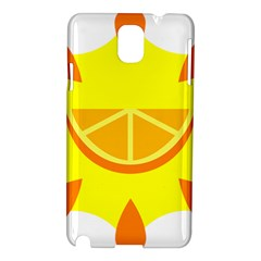 Citrus Cutie Request Orange Limes Yellow Samsung Galaxy Note 3 N9005 Hardshell Case