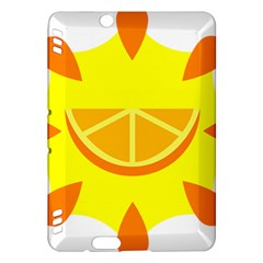 Citrus Cutie Request Orange Limes Yellow Kindle Fire HDX Hardshell Case