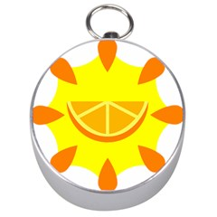 Citrus Cutie Request Orange Limes Yellow Silver Compasses