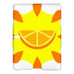 Citrus Cutie Request Orange Limes Yellow Samsung Galaxy Tab S (10.5 ) Hardshell Case