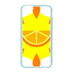 Citrus Cutie Request Orange Limes Yellow Apple Seamless iPhone 6/6S Case (Color)