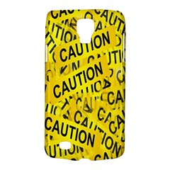 Caution Road Sign Cross Yellow Galaxy S4 Active