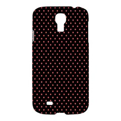 Colored Circle Red Black Samsung Galaxy S4 I9500/I9505 Hardshell Case
