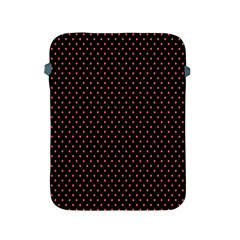 Colored Circle Red Black Apple iPad 2/3/4 Protective Soft Cases