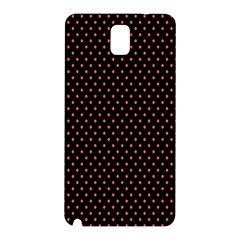 Colored Circle Red Black Samsung Galaxy Note 3 N9005 Hardshell Back Case