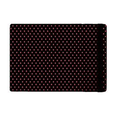 Colored Circle Red Black iPad Mini 2 Flip Cases