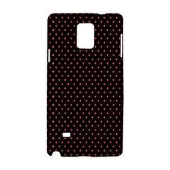 Colored Circle Red Black Samsung Galaxy Note 4 Hardshell Case