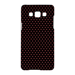 Colored Circle Red Black Samsung Galaxy A5 Hardshell Case