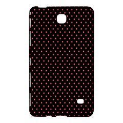 Colored Circle Red Black Samsung Galaxy Tab 4 (8 ) Hardshell Case