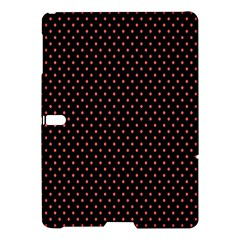 Colored Circle Red Black Samsung Galaxy Tab S (10.5 ) Hardshell Case