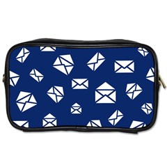 Envelope Letter Sand Blue White Masage Toiletries Bags 2-Side