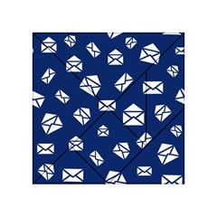 Envelope Letter Sand Blue White Masage Acrylic Tangram Puzzle (4  X 4 )