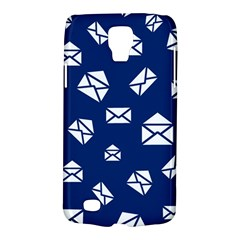 Envelope Letter Sand Blue White Masage Galaxy S4 Active