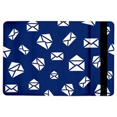 Envelope Letter Sand Blue White Masage iPad Air 2 Flip