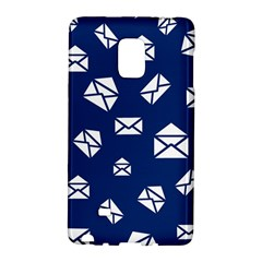 Envelope Letter Sand Blue White Masage Galaxy Note Edge