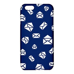Envelope Letter Sand Blue White Masage iPhone 6/6S TPU Case