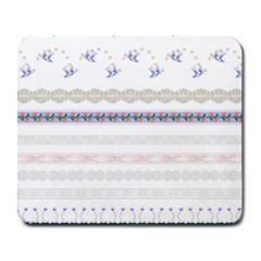 Bird Fly Butterfly Flower Floral Rose Blue Red Pink Large Mousepads