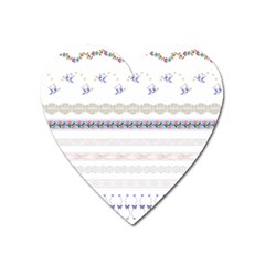 Bird Fly Butterfly Flower Floral Rose Blue Red Pink Heart Magnet