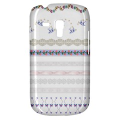 Bird Fly Butterfly Flower Floral Rose Blue Red Pink Galaxy S3 Mini