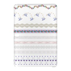Bird Fly Butterfly Flower Floral Rose Blue Red Pink Samsung Galaxy Tab Pro 12.2 Hardshell Case