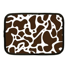 Dalmantion Skin Cow Brown White Netbook Case (Medium)