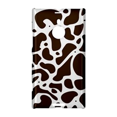 Dalmantion Skin Cow Brown White Nokia Lumia 1520