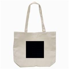 Colored Line Light Triangle Plaid Blue Black Tote Bag (Cream)