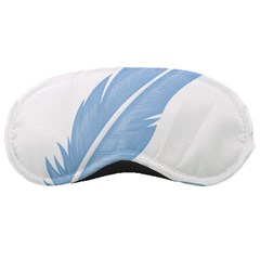 Feather Pen Blue Light Sleeping Masks