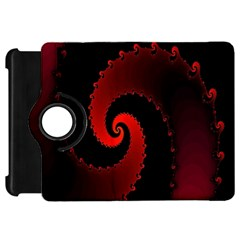 Red Fractal Spiral Kindle Fire HD 7
