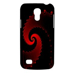 Red Fractal Spiral Galaxy S4 Mini
