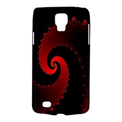 Red Fractal Spiral Galaxy S4 Active