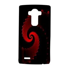 Red Fractal Spiral Lg G4 Hardshell Case