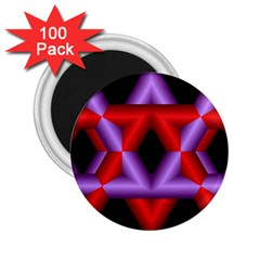 Star Of David 2.25  Magnets (100 pack)