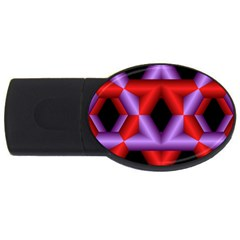 Star Of David USB Flash Drive Oval (2 GB)