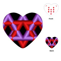 Star Of David Playing Cards (Heart)